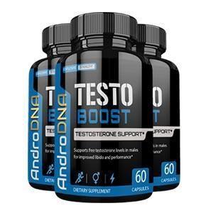 Recommandé par les médecins produit pour les hommes AndroDNA Testo Boost