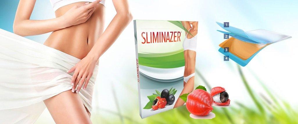 Quels sont les ingrédients inclus dans Sliminazer? Après quelle période d'application peut-on s'attendre à des électrocutions?
