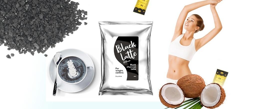 Quels sont les ingrédients inclus dans Black Latte? Après quelle période d'application peut-on s'attendre à des électrocutions?